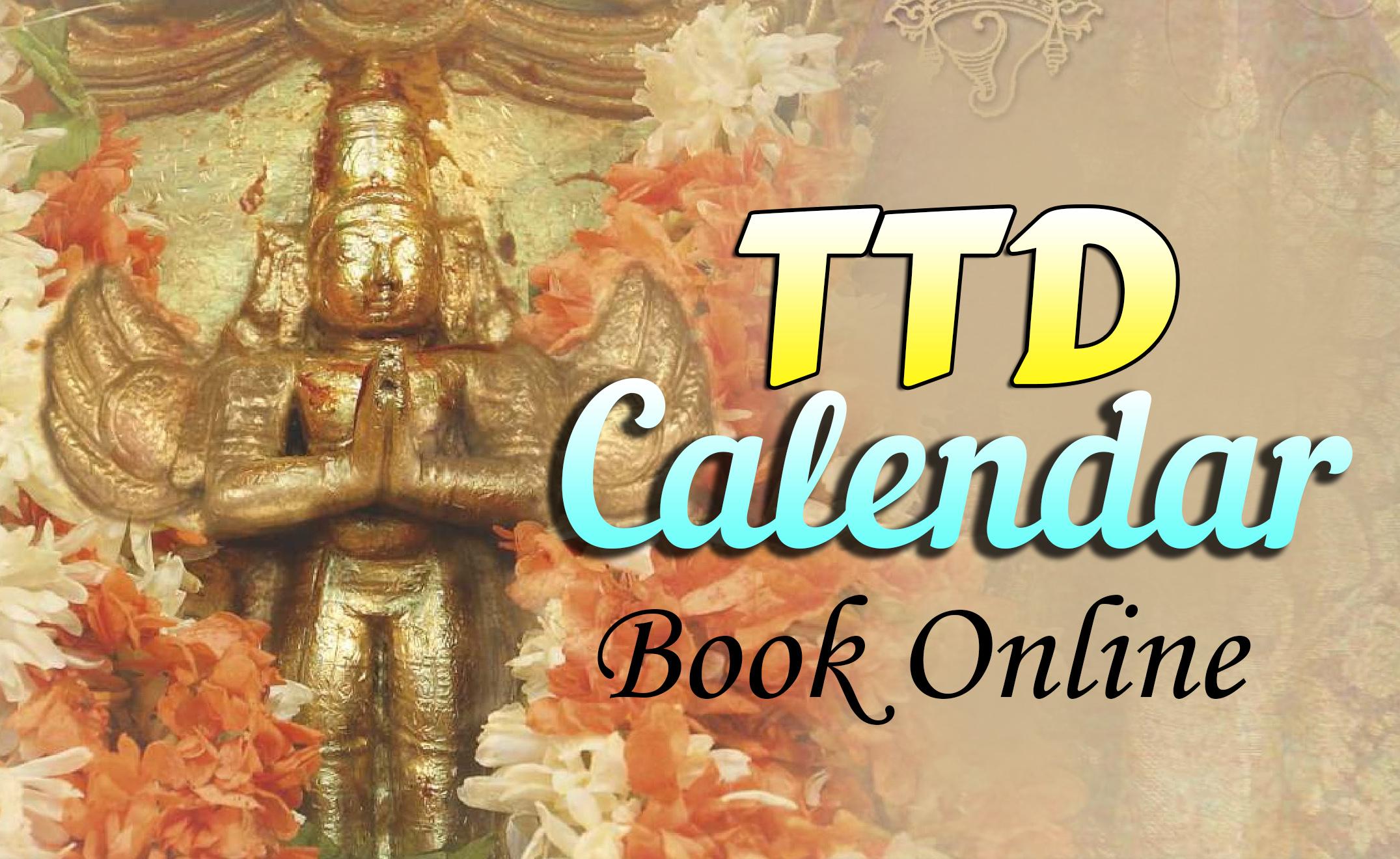 TTD Calendars