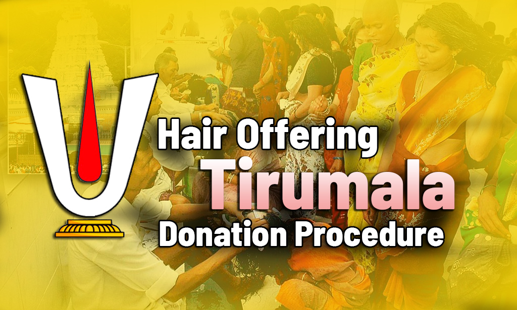 Tirupati Hair Offering