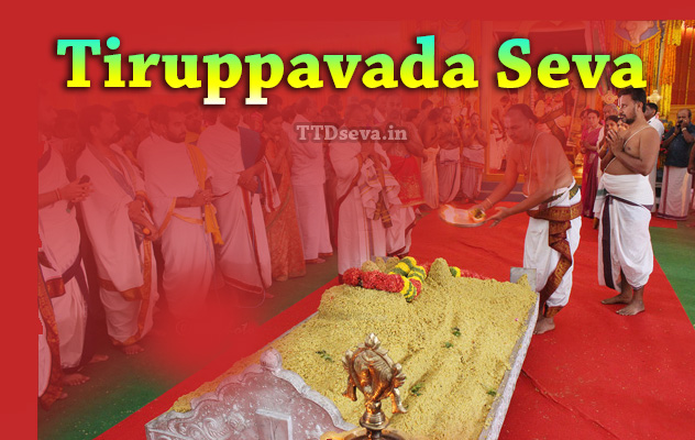Tiruppavada Seva Details, Ticket Booking Check Availability