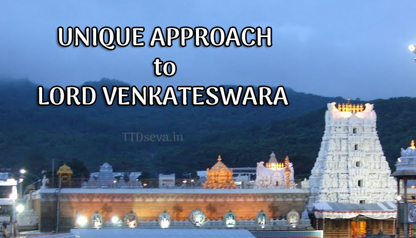 A Unique Approach to Lord Venkateswara