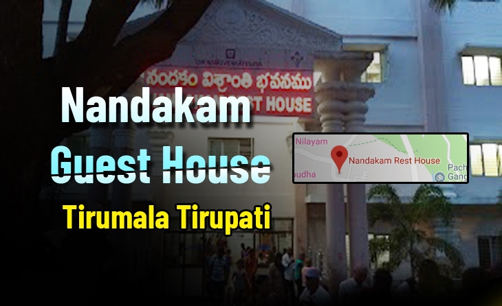 Nandakam Guest House Room Booking Online, Availability Tirumala