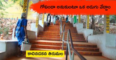 Tirumala Tirupati Walking Steps Footstep Way Guide Timings