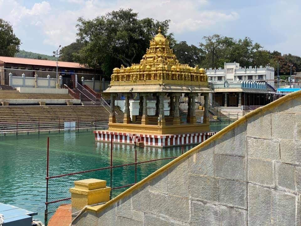 TTD Temple Closed