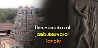 Thiruvanaikaval Jambukeswarar Temple