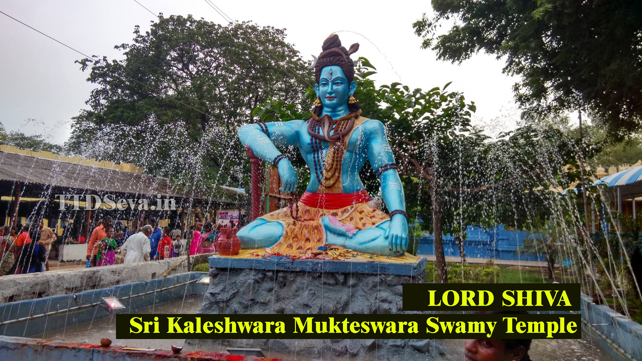 Shiva temple kaleshwaram